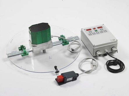 Sbarra motore SAF NATURA per smielatori d.640 mm